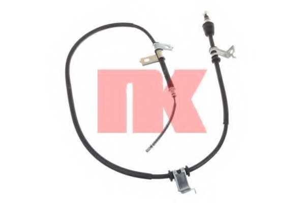 Трос стояночной тормозной системы NK 903437 - изображение