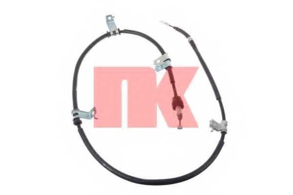 Трос стояночной тормозной системы NK 903440 - изображение