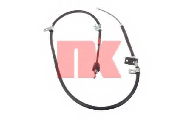 Трос стояночной тормозной системы NK 903443 - изображение