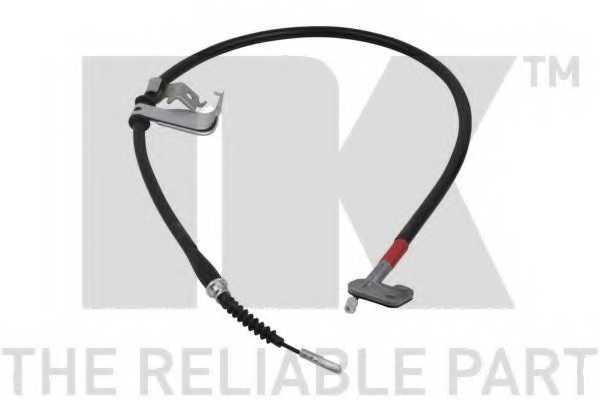 Трос стояночной тормозной системы NK 903448 - изображение