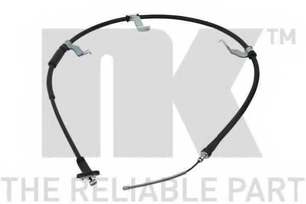 Трос стояночной тормозной системы NK 903450 - изображение
