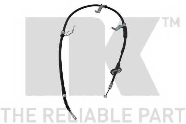 Трос стояночной тормозной системы NK 903453 - изображение