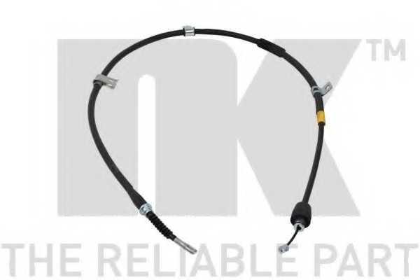 Трос стояночной тормозной системы NK 903454 - изображение