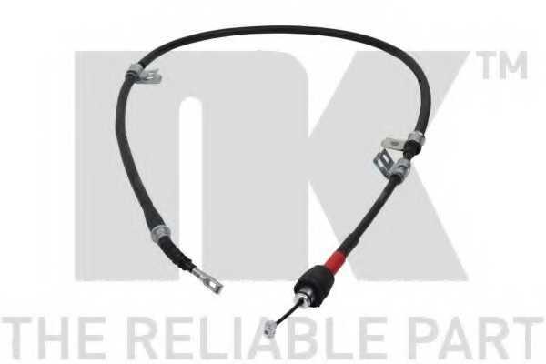 Трос стояночной тормозной системы NK 903455 - изображение