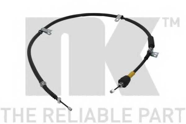 Трос стояночной тормозной системы NK 903456 - изображение