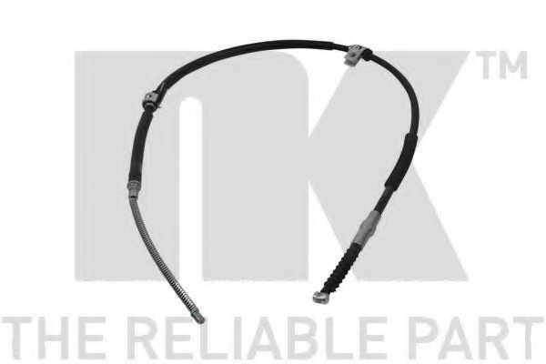 Трос стояночной тормозной системы NK 903459 - изображение