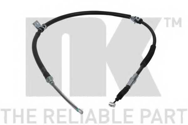 Трос стояночной тормозной системы NK 903460 - изображение
