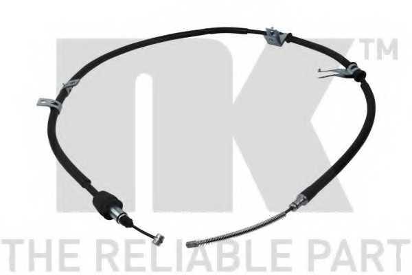 Трос стояночной тормозной системы NK 903465 - изображение