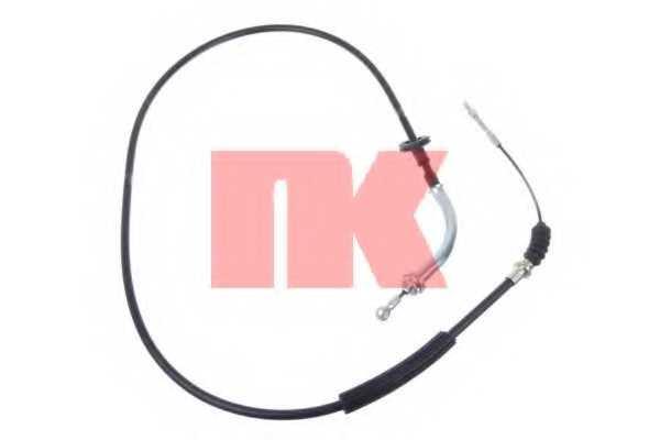 Трос стояночной тормозной системы NK 903501 - изображение