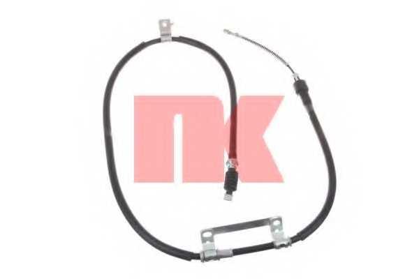 Трос стояночной тормозной системы NK 903509 - изображение