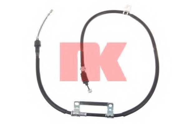 Трос стояночной тормозной системы NK 903510 - изображение