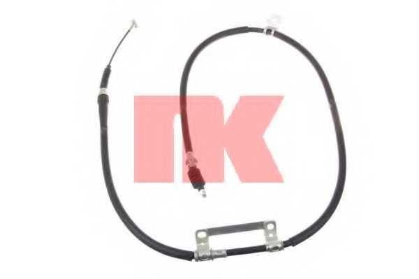 Трос стояночной тормозной системы NK 903512 - изображение
