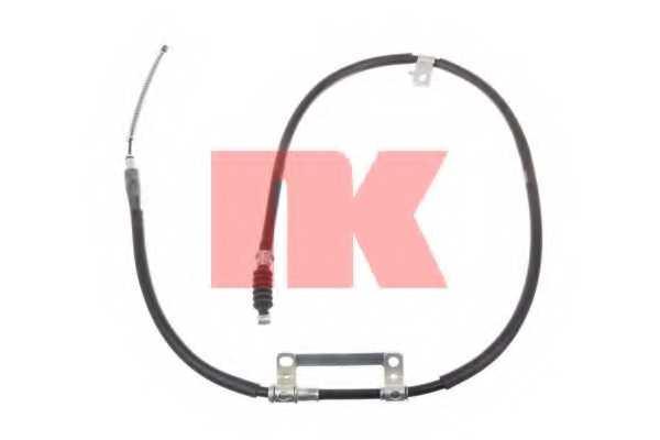 Трос стояночной тормозной системы NK 903515 - изображение