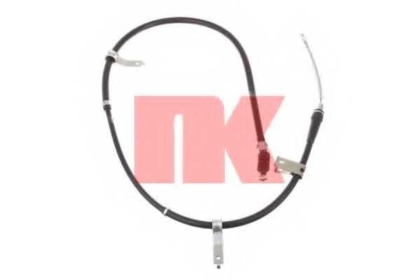 Трос стояночной тормозной системы NK 903518 - изображение