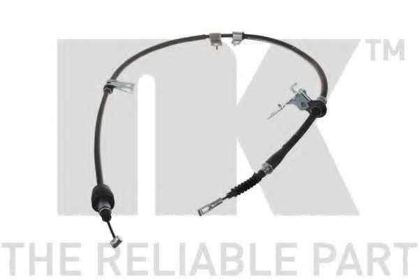 Трос стояночной тормозной системы NK 903523 - изображение