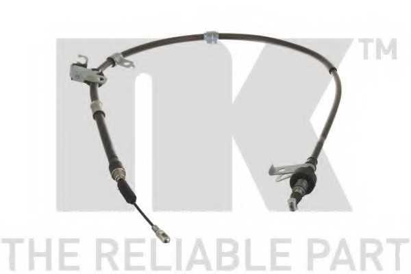Трос стояночной тормозной системы NK 903524 - изображение