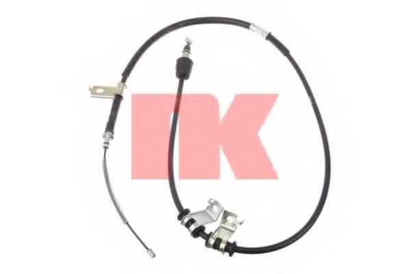 Трос стояночной тормозной системы NK 903525 - изображение