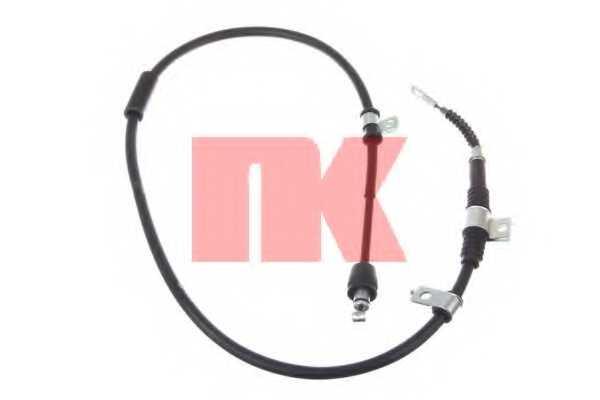 Трос стояночной тормозной системы NK 903530 - изображение