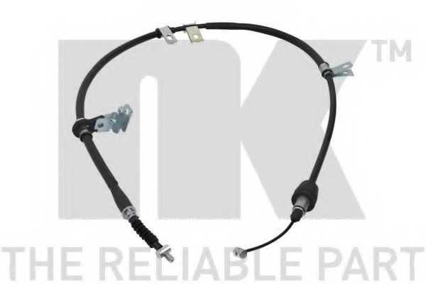Трос стояночной тормозной системы NK 903531 - изображение