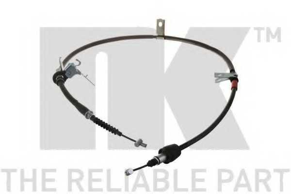 Трос стояночной тормозной системы NK 903532 - изображение