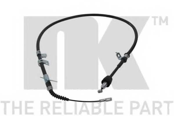 Трос стояночной тормозной системы NK 903533 - изображение