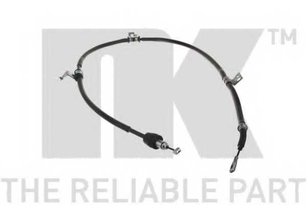 Трос стояночной тормозной системы NK 903537 - изображение
