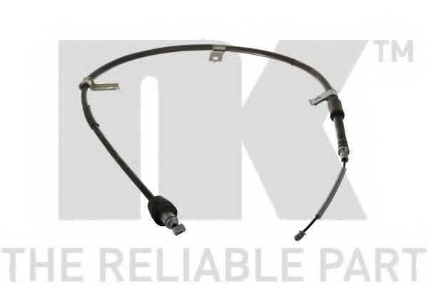 Трос стояночной тормозной системы NK 903538 - изображение