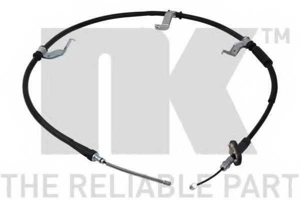 Трос стояночной тормозной системы NK 903541 - изображение