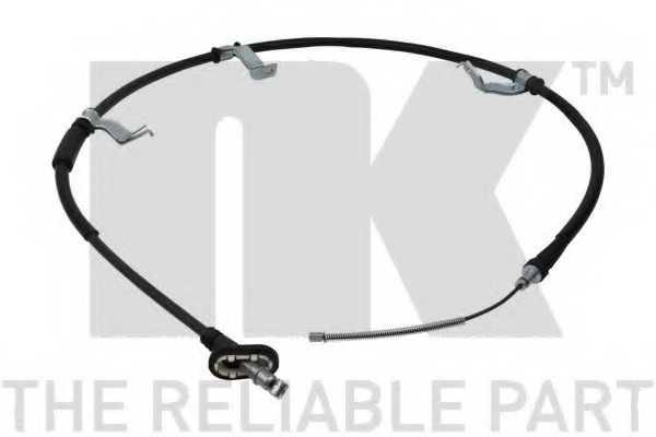 Трос стояночной тормозной системы NK 903542 - изображение