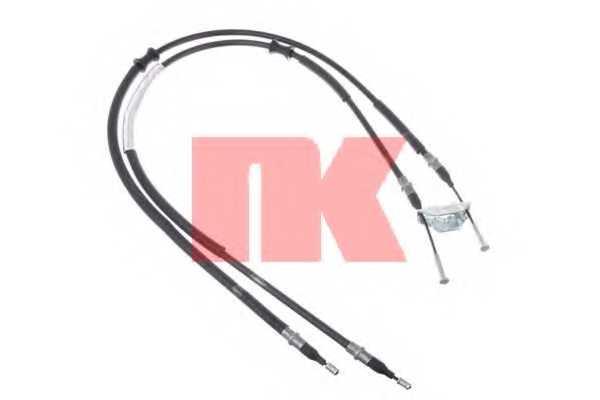 Трос стояночной тормозной системы NK 9036104 - изображение