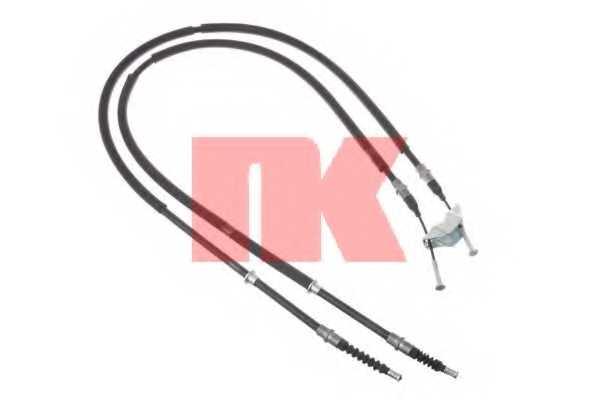 Трос стояночной тормозной системы NK 9036119 - изображение