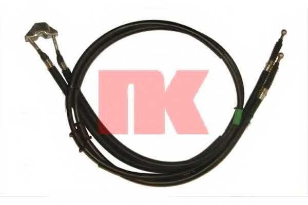 Трос стояночной тормозной системы NK 9036121 - изображение