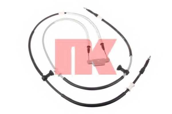 Трос стояночной тормозной системы NK 9036122 - изображение