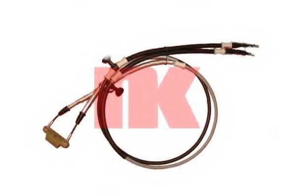 Трос стояночной тормозной системы NK 9036123 - изображение