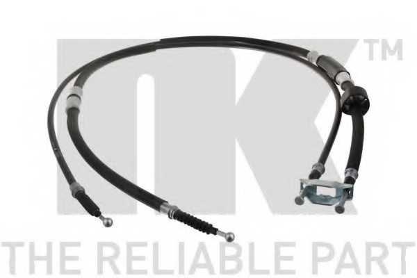 Трос стояночной тормозной системы NK 9036125 - изображение