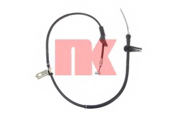 Трос стояночной тормозной системы NK 9036126 - изображение