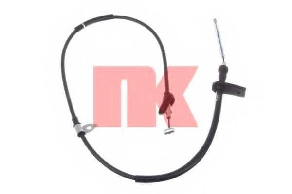 Трос стояночной тормозной системы NK 9036127 - изображение