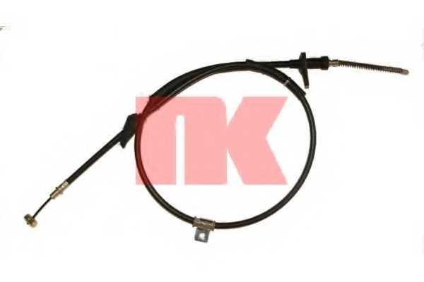 Трос стояночной тормозной системы NK 9036128 - изображение