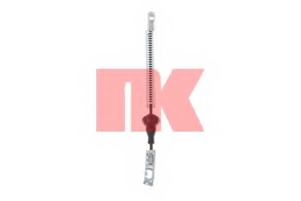 Трос стояночной тормозной системы NK 9036135 - изображение