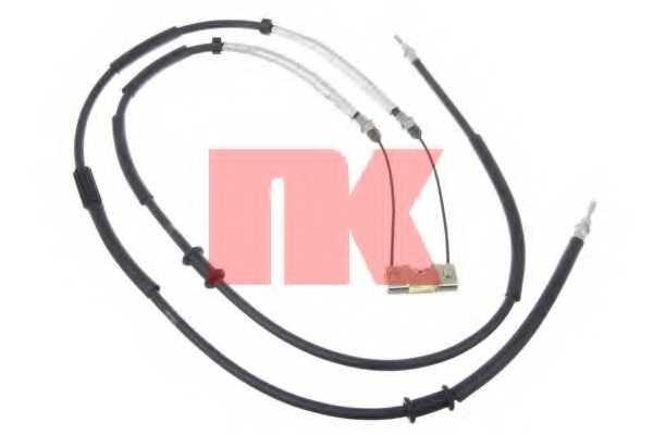 Трос стояночной тормозной системы NK 9036138 - изображение
