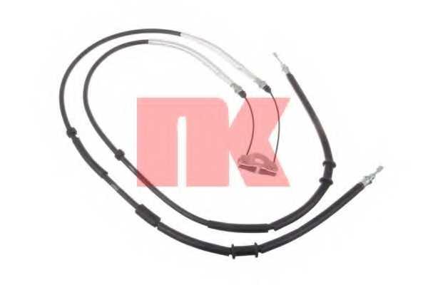 Трос стояночной тормозной системы NK 9036139 - изображение