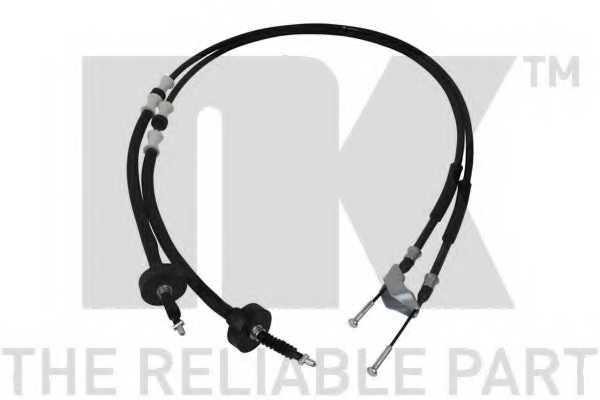 Трос стояночной тормозной системы NK 9036142 - изображение