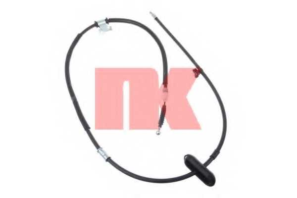Трос стояночной тормозной системы NK 9036146 - изображение