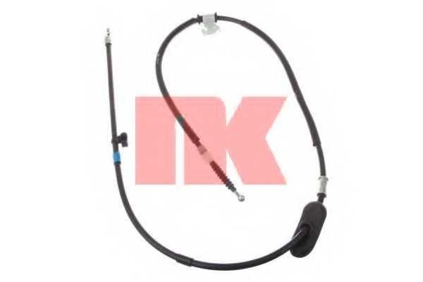 Трос стояночной тормозной системы NK 9036147 - изображение