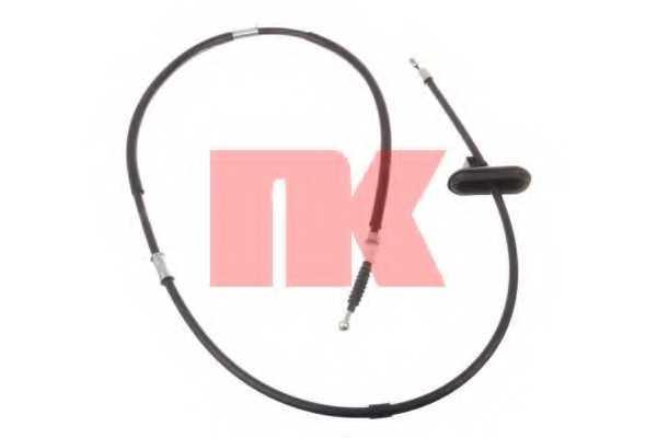 Трос стояночной тормозной системы NK 9036148 - изображение