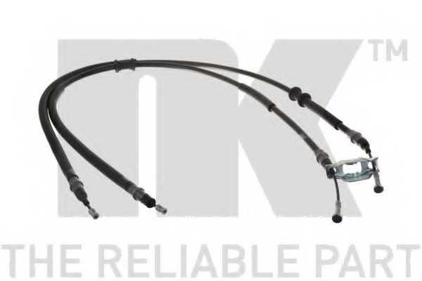 Трос стояночной тормозной системы NK 9036153 - изображение