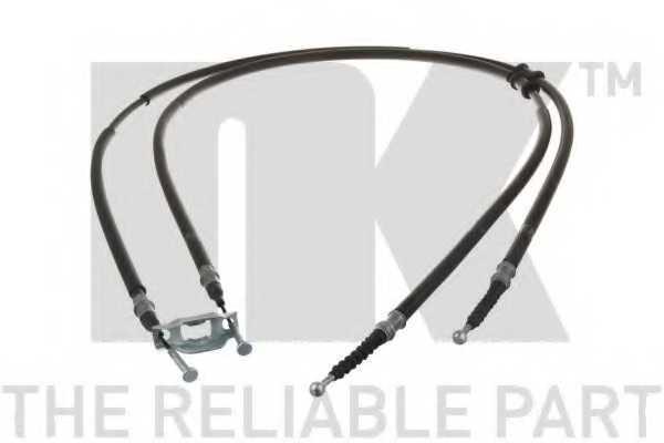 Трос стояночной тормозной системы NK 9036156 - изображение