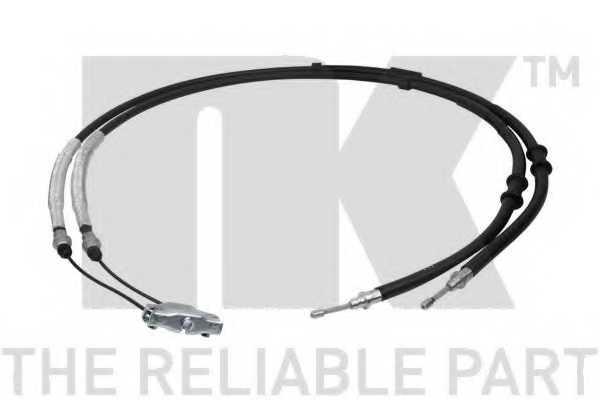 Трос стояночной тормозной системы NK 9036157 - изображение