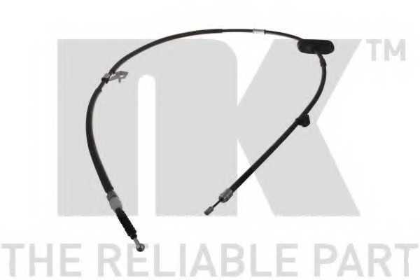 Трос стояночной тормозной системы NK 9036166 - изображение