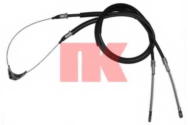 Трос стояночной тормозной системы NK 903650 - изображение